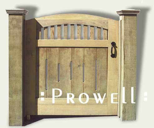 wood gates in Santa Rosa, ca
