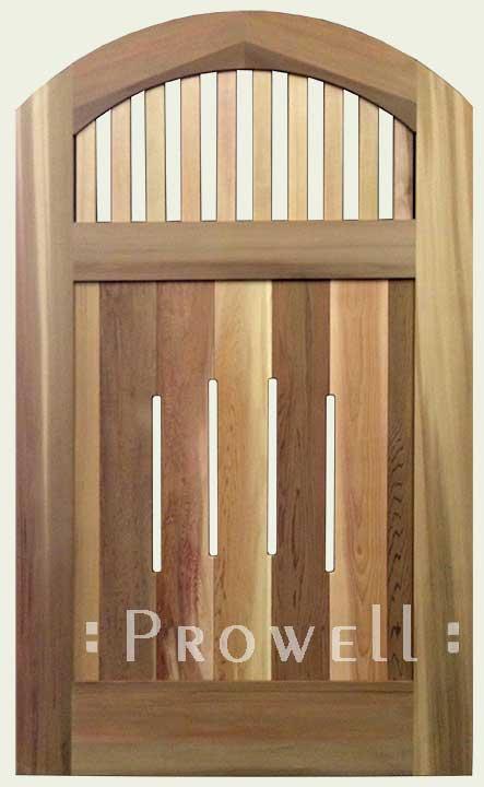 custom wood gate #7
