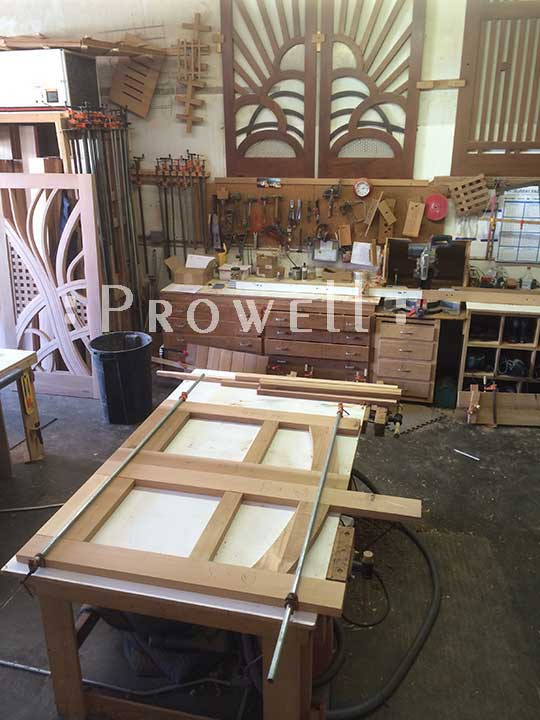 how to build a Prowell wood gate #7