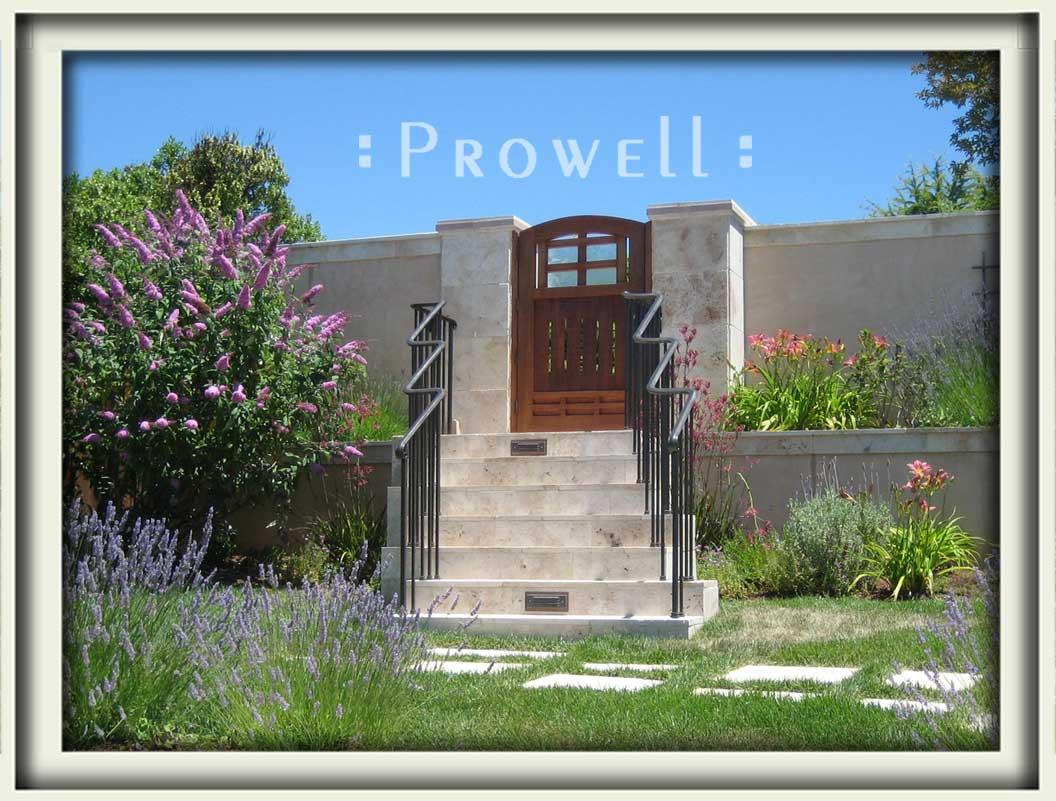 site photograph showing garden door 84 in Silicon Valley, California
