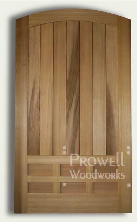 cropped photo showing wood privacy gates #89