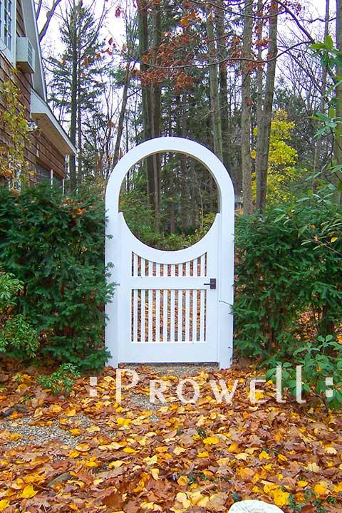 arched wooden garden gates #8-1 in Michigan
