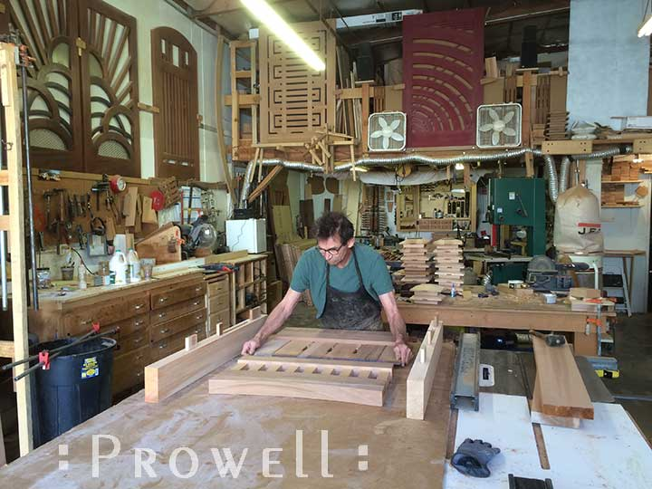 How to build a wood gate #8