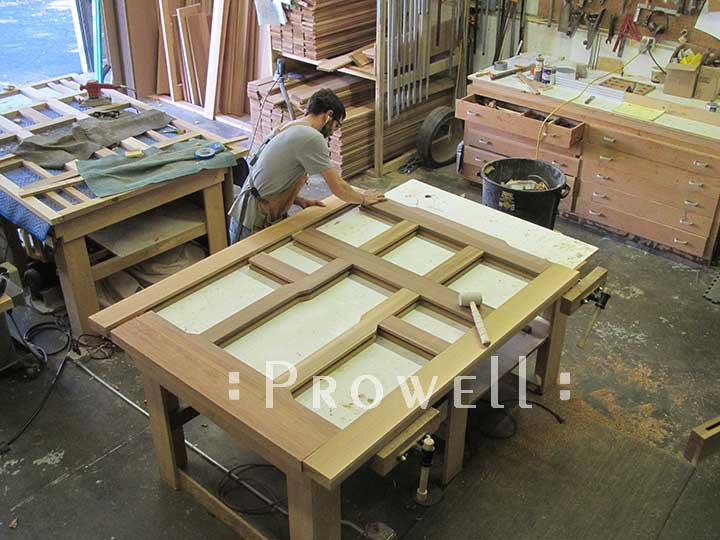 shop photo show how to build the wood gate #92