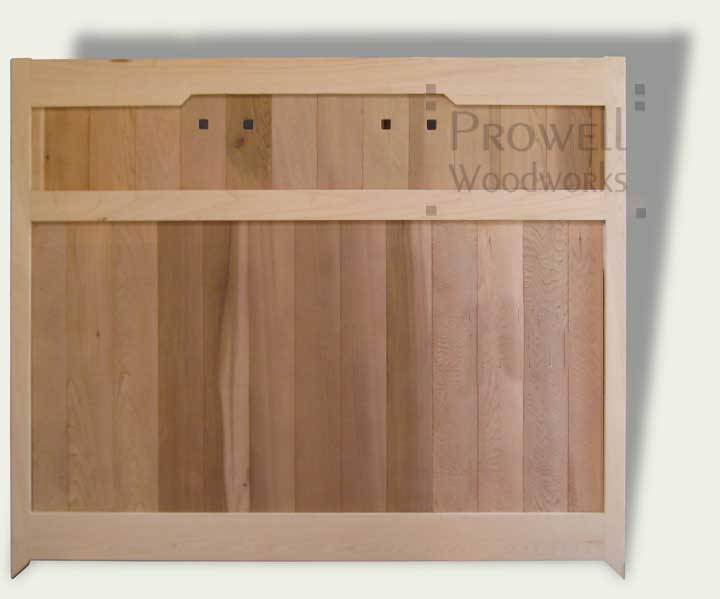 custom Wood Garden Fences