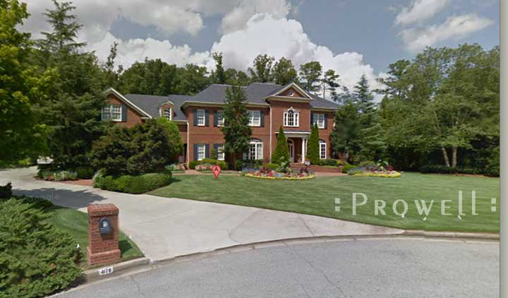 site photo showing the residence for #96-5 in Atlanta, GA