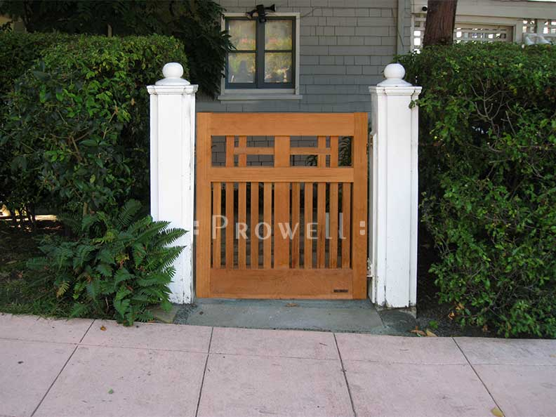 craftsman wood gate 9-1 in Oakland, California