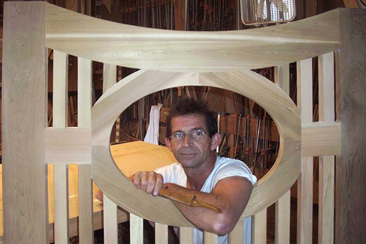 Charles prowell building a wood gate #2