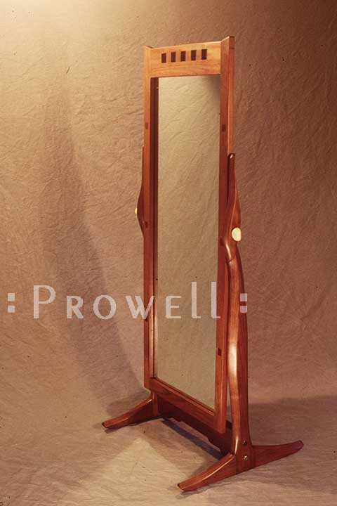 Stand-up mirror by Prowell Woodworks