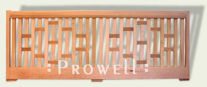 custom wood garden wall fence panels