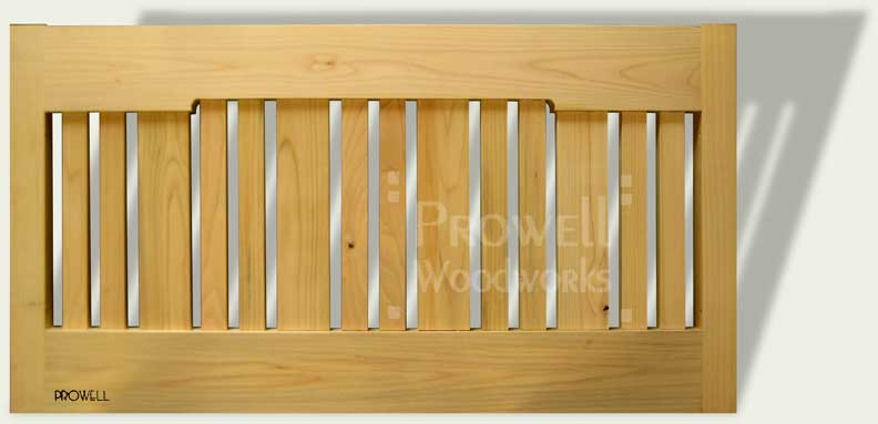 Custom wood fence extension panels #5