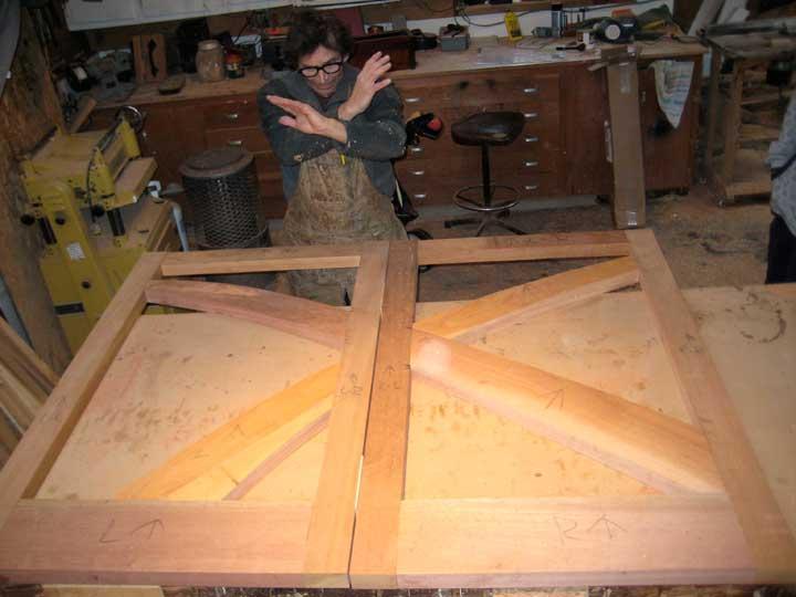 Shop photo on how do I build a wood gate 202