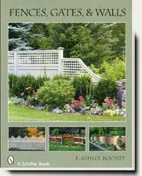 books and magazines on wood gates and fences