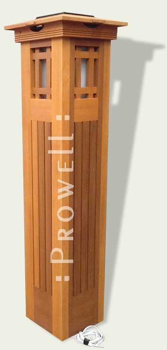 prowell custom wood garden columns #10-1