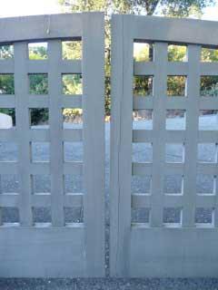sagging gates