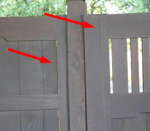 swollen gates