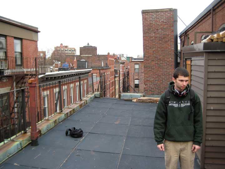 ben prowell at North Bennet Street, boston