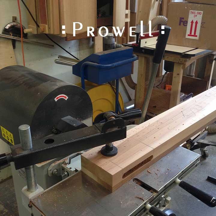 Creating horizontal mortises for wood gates