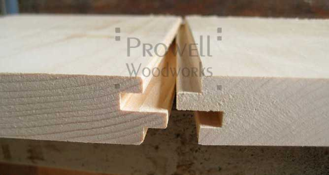 T&G joinery