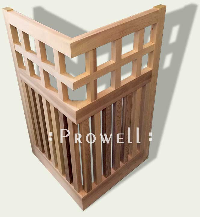 fence corners without posts, by prowell