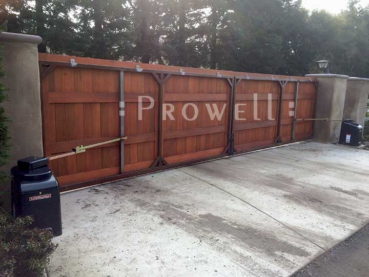 Steel Frames for Wood driveway Gates, Prowell