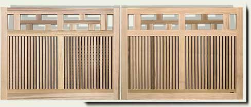 custom wood driveway gate #11. Prowell wood works