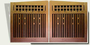 link to wood driveway gate #16