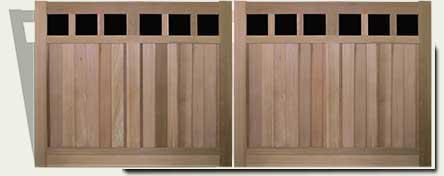 Custom Wood Driveway Gates #23