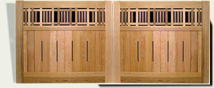 Custom Wood Driveway Gates #29