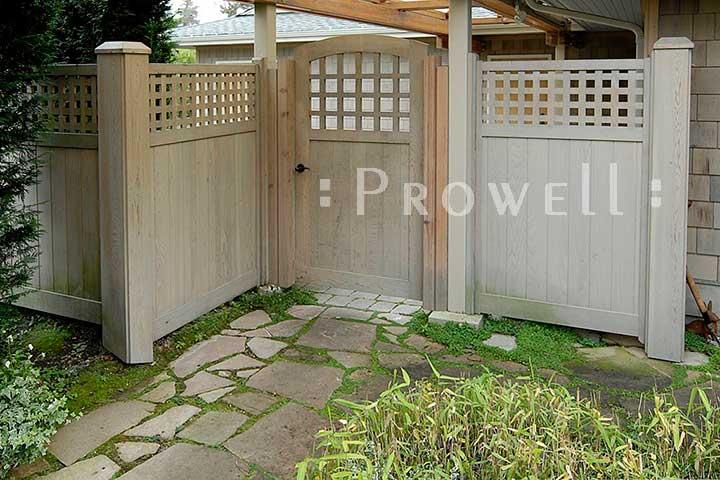 custom Wood Fence Panels #11