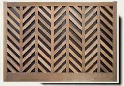 custom wood garden fence #13. prowell