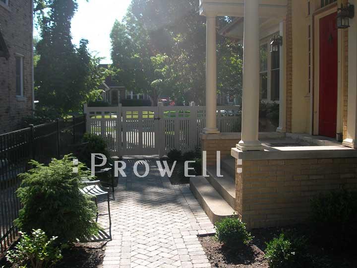 Custom Wooden Garden Fence Panels #14 in Park Ridge, Illinois