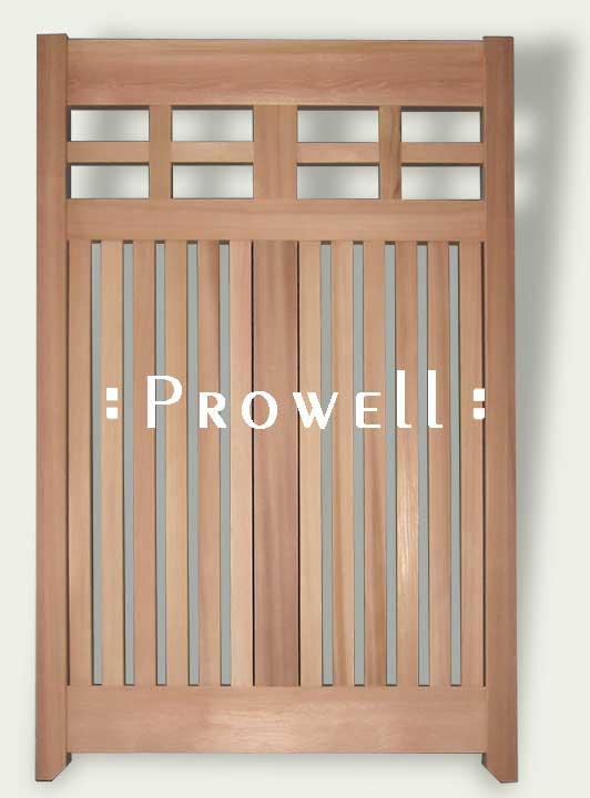 Custom Wood Fencing Panels #14