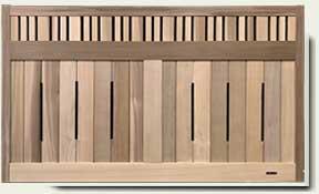 Wood Garden Fence #18