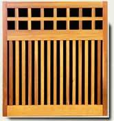 Custom Wood Fence Panel #22
