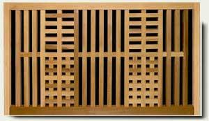 Wood Garden Fence #24