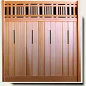 Custom Wood Fence Panel #29