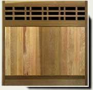 Custom Wood Fence Panel #5