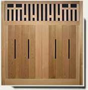 Custom Wood Fence Panel #9
