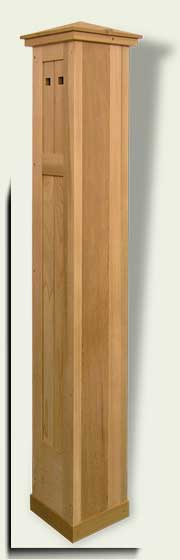 link to Wood Gate Column #4.