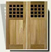 wood gate design #103