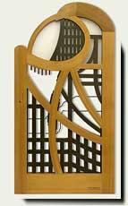 Custom wood Wave Gate #200-A