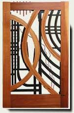 Wood Designer Garden Gate #200