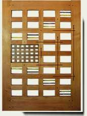 Wood Designer Garden Gate #201
