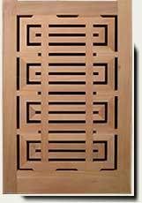 Wood Designer Garden Gate #207