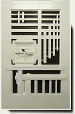 Wood Designer Garden Gate #208