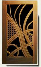 Wood Designer Garden Gate #209