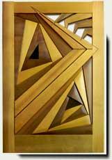 exceptional wood garden gate #212