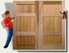 Custom Wood Garden Gate #30