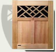 Wood Garden Gates #39